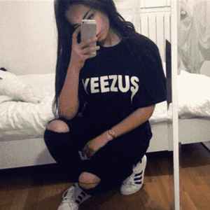 Yeezus Cool Street Hip Pop T-shirt - Lupsona