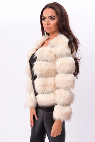 Alegra Faux Fur available online at Pindydoll