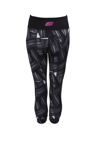 COMET CROPPED LEGGING BLACK