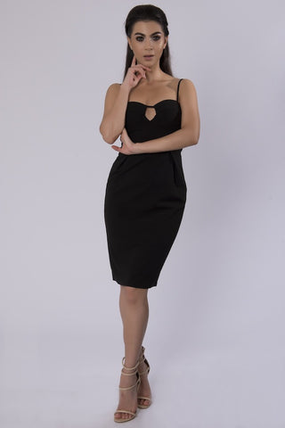 LIANA BLACK DRESS