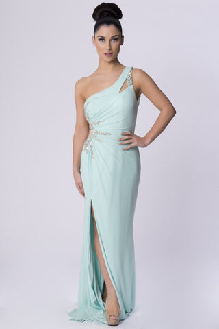VALENTINA MINT LONG DRESS