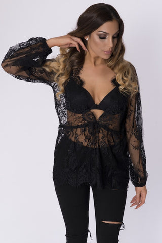 ZUANA LACE TOP