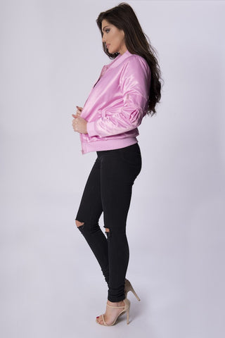 MAGGIE PINK BOMBER