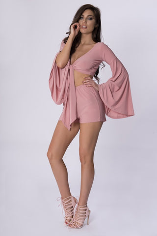 LUMA CO-ORD SET - PINK