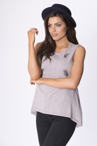 MORMONT GREY TOP
