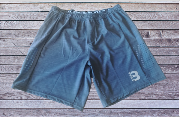 7inch Grey Melange Elite Shorts