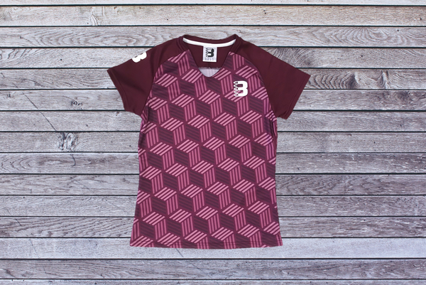 Maroon Hex - Techni Trail