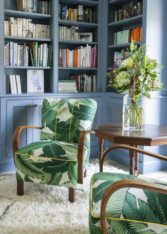 Greenery home decor chair