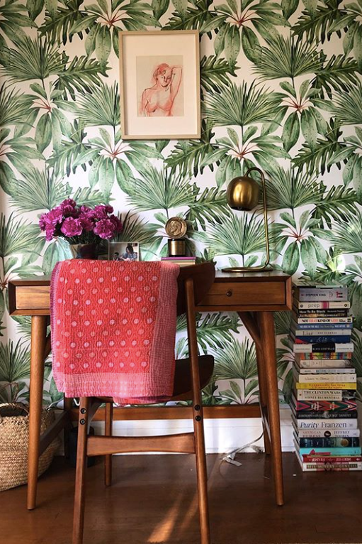 TROPICAL REMOVABLE WALLPAPER FOR KITCHEN
