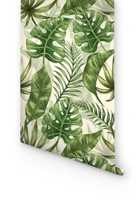 URBAN JUNGLE REMOVABLE WALLPAPER