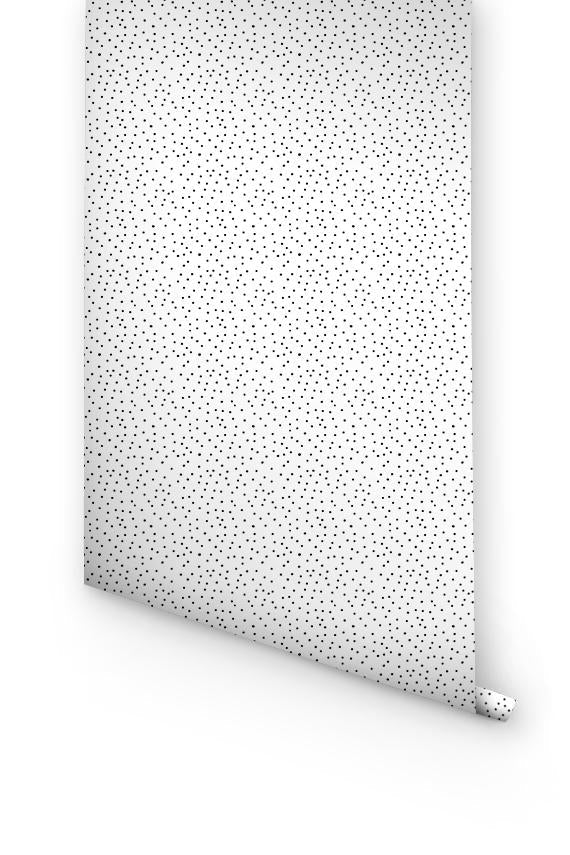 Small dots removable wallpaper