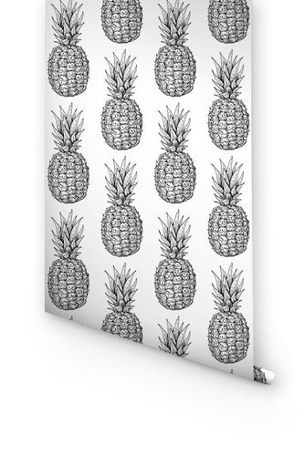 Pineapples wallpaper