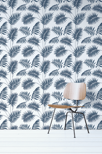 Palm Leaves Pattern Removable Wallpaper