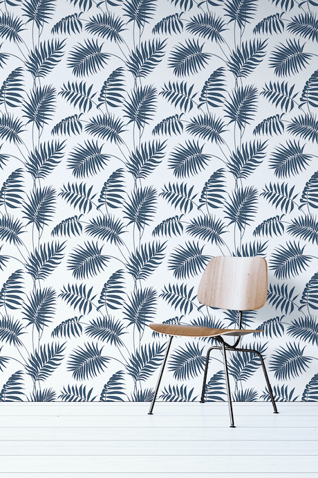 Navy Peel And Stick Wallpaper