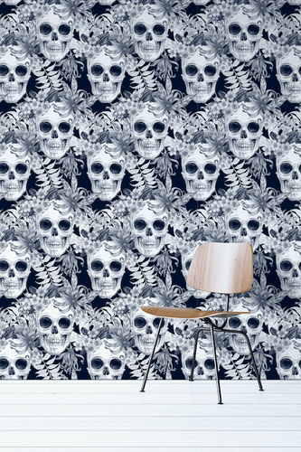 Skull Removable Wallpaper