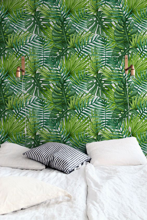 Bold Tropical Removable Wallpaper
