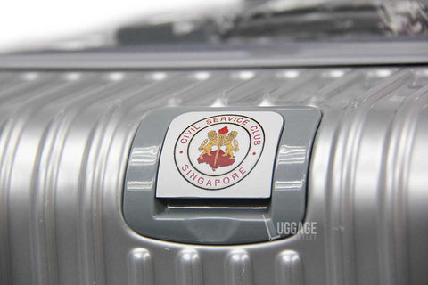 Luggage Outlet Singapore - Civil Service Club Customised Logo