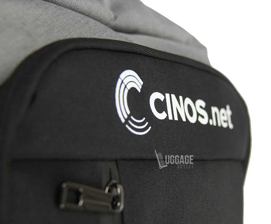 Luggage Outlet Singapore - Custom printed logo backpack