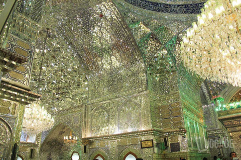 Luggage Outlet Singapore - Shiraz Shah Cheragh Shrine Iran Mirror Work