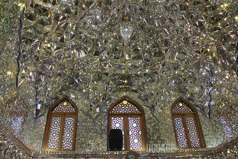 Luggage Outlet Singapore - Shiraz Ali Ebne Hamze Shrine Iran Mirror Work