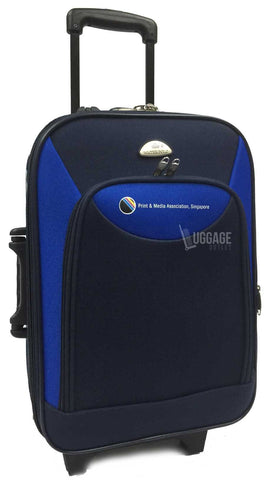 Luggage Outlet Singapore - Customised silk screen printing luggage