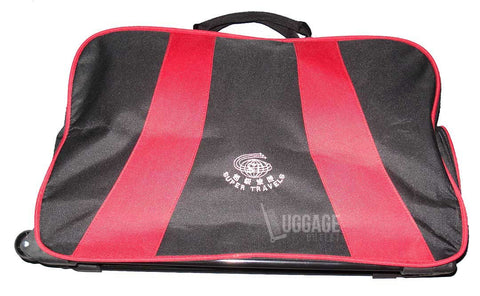 Luggage Outlet Singapore - Customised silk screen printed trolley bag