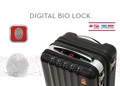 Luggage Outlet Singapore - Planet Traveler Smart Luggage Case