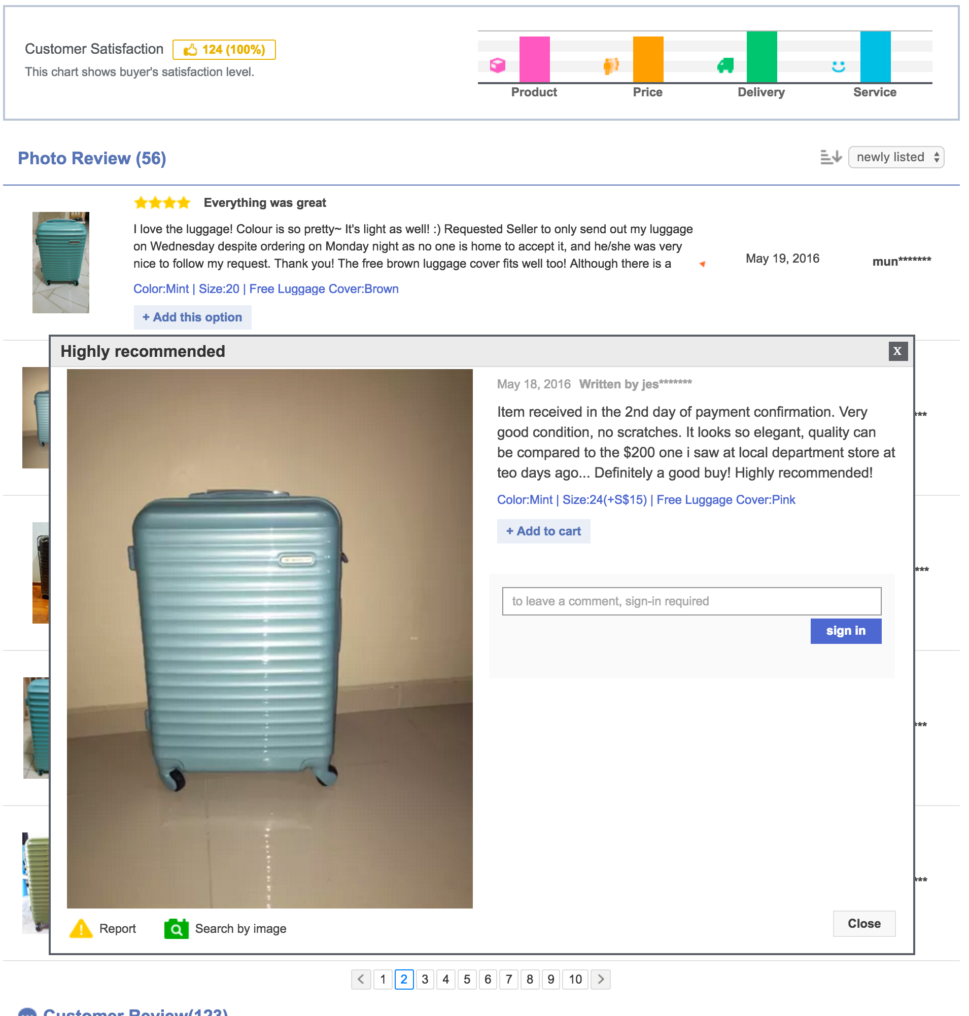 Luggage Outlet Singapore - Polycarbonate Luggage Review