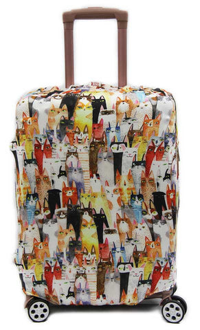 Vivid Washable Elastic Luggage Cover *Cabin size covers left* - Luggage Outlet