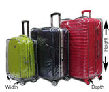 Cabin Size Waterproof Transparent Luggage Cover - Luggage Outlet