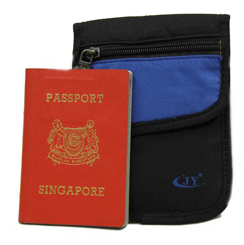 Stealth Slim Passport Holder / Safety Pouch / Money Wallet - Luggage Outlet