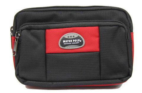 Horizontal Pouch with Belt Loop and Carabiner - Luggage Outlet