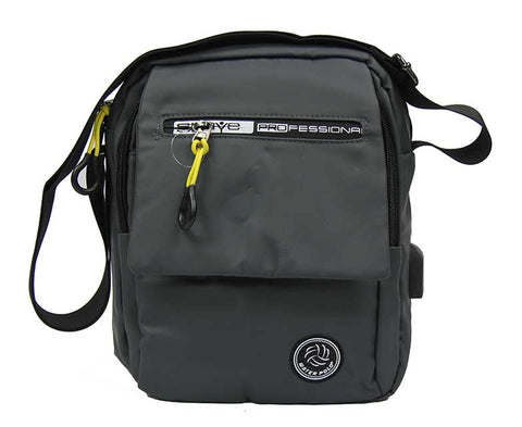 Draping Waterproof Tablet Bag with USB Charging Port - Luggage Outlet