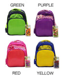 Creative Jigsaw Puzzle Children Bag - Luggage Outlet Singapore - 2
