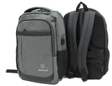 Draughty Waterproof Laptop Backpack with USB Charging Port - Luggage Outlet