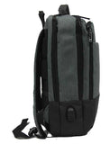 Svelte Waterproof Laptop Backpack with USB Charging Port - Luggage Outlet