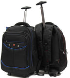 Itinerant 2-wheeler Trolley Backpack Laptop Bag - Luggage Outlet Singapore - 1