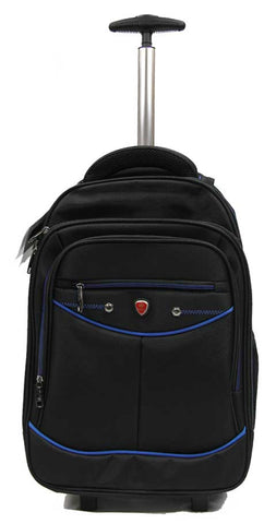 Itinerant 2-wheeler Trolley Backpack Laptop Bag