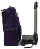 Coveted Detachable Trolley Backpack with Spinner Wheels - Luggage Outlet