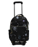 Chic Detachable Trolley Backpack - Luggage Outlet