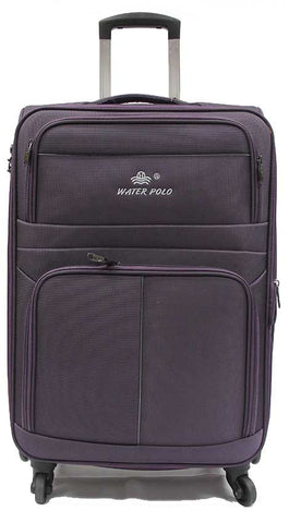 Tough Cabin Size Softside Expandable Luggage with 4 Spinner Wheels TSA lock - Luggage Outlet