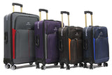 Cabin Size Economical Softside Expandable Luggage with Double Caster Wheels - Luggage Outlet