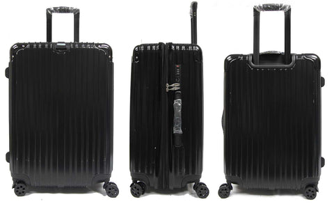 Sleek Expandable Polycarbonate Luggage with Embedded Safe Skies TSA Lock and Spinner Wheels