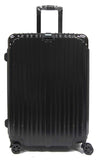 Sleek Expandable Polycarbonate Luggage with Spinner Wheels and Recessed Safe Skies TSA Lock - Luggage Outlet