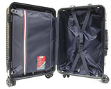 Premium 8-Wheeler Aluminium Frame Polycarbonate Luggage with TSA Lock - Luggage Outlet