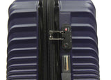 Twirling ABS Expandable Luggage with 8 Spinner Wheels and Number Lock