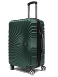 Twirling ABS Expandable Luggage with 8 Spinner Wheels and TSA Number Lock