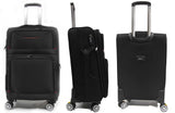 Versatile Softside Expandable Luggage with Double Casters and TSA Lock - Luggage Outlet
