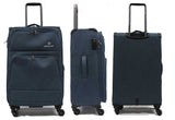 Ultralight Softside Expandable Luggage with Spinner Wheels TSA Lock - Luggage Outlet