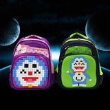 Creative Jigsaw Puzzle Children Bag - Luggage Outlet Singapore - 6
